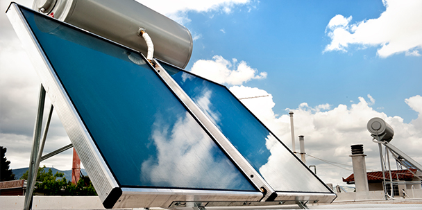Water Solar Water Heater Services in San Mateo